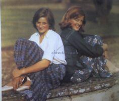 Lady Diana Spencer and her older sister, Lady Jane Spencer