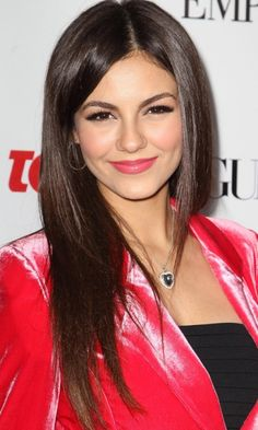 Long Haircut: Victoria Justice& Cut Looks Super Sleek, 2012 Victoria Justice, Long Hair Cuts, Long Hair Styles, Celebs, Celebrities, Woman Face, Most Beautiful Women, Pretty Woman, Celebrity Style