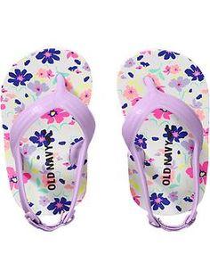 Patterned Flip-Flops for Baby