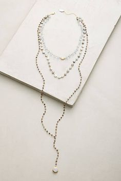 Multilayered Lariat Necklace