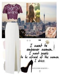 """""""Untitled #450"""" by cristina-974 on Polyvore featuring Topshop, NYX, Swarovski and River Island"""