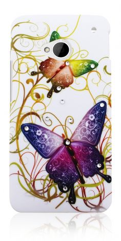 Butterfly Case For HTC One Htc One, Butterfly, Phone Cases, Digital, Disney Characters, Products, Bowties, Gadget, Disney Face Characters