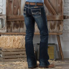 Cowgirl Tuff No Limits Jean- The Cowgirl Tuff No Limits jean is sure to become a new favorite