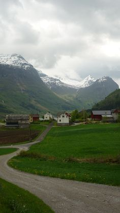 A farm in Olden / Norway