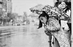 Rain, Rain touch me again: umbrella street photography -