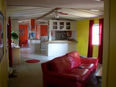single wide Mobile Home Kitchen Makeovers   Mobile and Manufactured Home Living Colorful Single Wide Makeovers ...