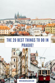 The Best 20 Things to do in Prague! - Best Places to Visit X Backpacking Europe, Europe Travel Guide, Travel Guides, Travel Advice, Budget Travel, Cool Places To Visit, Places To Travel, Travel Destinations, European Destination