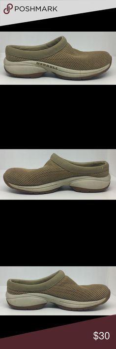 Merrell Primo Breeze II Slip On Shoes Clogs- sz 8 Worn a few times. Has wear but in Good Condition. See Pictures. Bin 8 B81 Merrell Shoes Mules & Clogs
