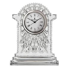Buy Waterford Crystal Lismore Carriage Clock, Large Online at johnlewis.com