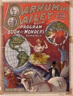 Barnum & Bailey Circus Program