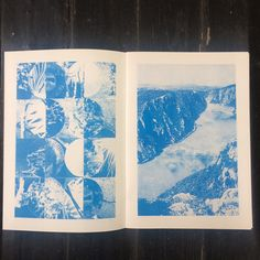 Found a couple of copies of 'Aqua' A4, 16 pages, Blue risograph throughout, Staple bound, Softcover, Ed. of 20, 2015 £10 (plus p&p) link in bio