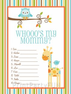 baby shower on pinterest safari baby showers baby shower games and