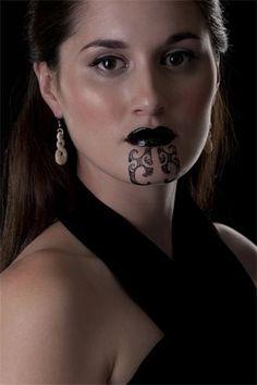 Former Miss Aotearoa NZ 2010 - Miss Angela Cudd (Ngati Porou) Maori Tattoos, Ta Moko Tattoo, Marquesan Tattoos, Samoan Tattoo, Body Art Tattoos, Sleeve Tattoos, Head Tattoos, Tattoo Art, Tribal Tattoos