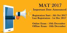 MBAUniverse: MAT Registration 2017 Online Started: Apply here f...