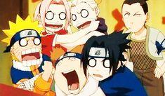 Find images and videos about funny, anime and naruto on We Heart It - the app to get lost in what you love. Naruto Team 7, Naruto Gif, Naruto Sasuke Sakura, Naruto Shippuden Sasuke, Sakura Haruno, Hinata, Naruhina, Itachi, Funny Naruto Memes