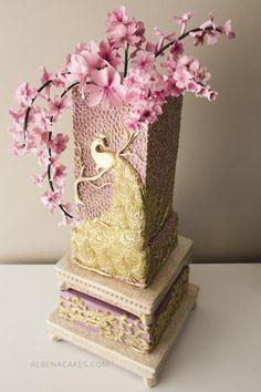 #5 Wedding Cake inspired by Enchanted Garden - Cake by Albena
