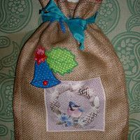 pytlíček na drobnosti klučičí Burlap, Reusable Tote Bags, Hessian Fabric, Jute, Canvas