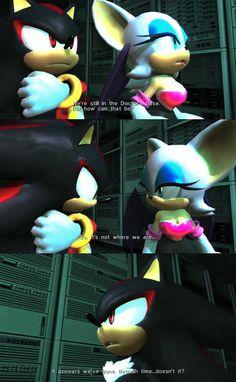 Rouge the bat shadow the hedgehog sonic team