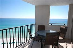 Relax on this balcony and enjoy this gorgeious view at Beachside Towers Two 4351 | Destin, Florida Vacation Rental | South Walton | My Vacation Haven