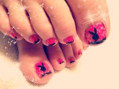 Playboy+Nail+Art | Nails | Pinterest