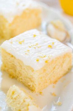 Lemon Buttermilk Cake with Lemon Glaze - Lemons is always fresh and it is good for the voice!