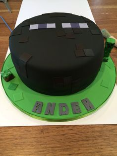1000 Images About Mine Craft Zombie Cake On Pinterest