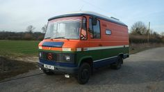 Mercedes 508 D camper van