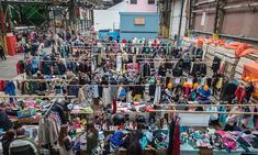 """Amsterdam affordable vintage - At Kiloshop wares are priced by weight, with retro dresses under €10. Among the shops on Haarlemmerstraat, Rumors is a favourite for stylish coats. For flea markets; head east for Dappermarkt, a grand bazaar of  the city's Surinamese and African communities..."""" MORE at link."""