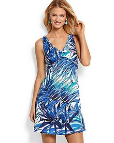 Tommy Bahama - Lacovia Leaves Dress