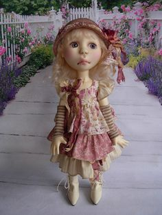 Rosy Ruffles fits Eppie by Connie Lowe by weewardrobe on Etsy