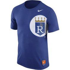 f702604c96e Kansas City Royals Cooperstown Tri-Blend Logo T-Shirt - MLB.com Shop