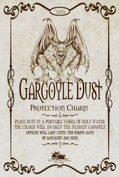 Gargoyle Dust Label by a_granger