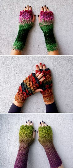 Dragon Scales Gloves