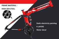 Sammenleggbar mountain bike G4 - blå Bicycles For Sale, Mountain Biking, Layering, Bike, Water, Bicycle, Gripe Water, Bicycles, Squad