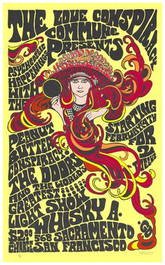 """The Doors with Jim Morrison at San Francisco Concert Poster 1967 • 100% Mint unused condition • Well discounted price + we combine shipping • Click on image for awesome view • Poster is 12"""" x 18"""" • Semi-Gloss Finish • Great Music Collectible - superb copy of original • Usually ships within 72 hours or less with > tracking. • Satisfaction guaranteed or your money back. Sportsworldwest.com"""