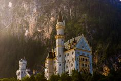 """allthingseurope: """" Neuschwanstein castle, Germany (by Lou Lu) """""""