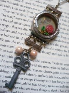 I found this site that gave some fun ideas for those single earings that have lost their mate. I don't know about you, but I have a bunch of them! You can make a charm bracelet out of them and lots more ideas.