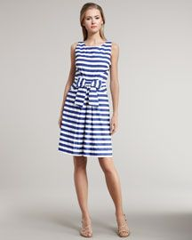 Stripes - kate spade; NL6067 with a few simple adjustments, or Simplicity 2444. Oh yeah!