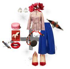 """Mrs Bourgeois-Dada having fun at Wall Street."" by conrado-rafael-maleta on Polyvore featuring Christian Louboutin, Delpozo, modern, Pink and etsy"