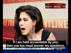 #FightLikeAGirl looks like ` Pakistani actress Veena Malik stands up to Muslim cleric's insults  #culture #Islam