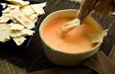 Roasted Red Pepper & Feta Dip (I added sour cream to adjust the consistency)