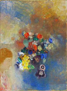 Risultati immagini per odilon redon Odilon Redon, Thing 1, Art Prints For Sale, 3 Arts, Beautiful Textures, Canvas Art Prints, Watercolor Art, Art Gallery, Images