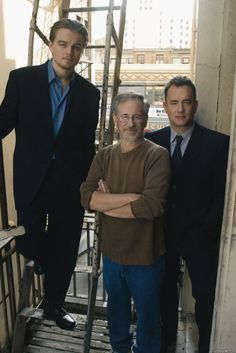Leo, Spielberg and Tom Hanks