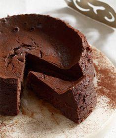 Recipe: Chocolate Truffle Cake (no flour, baked in a crock pot) - Recipelink.com