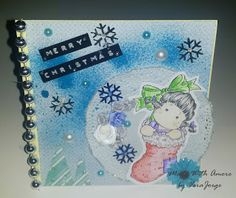 Made With Amore  by Vera Jorge: Christmas Card