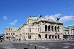 Austria, Vienna State Opera, House Painting, Opera House, Louvre, Street View, Europe, Mansions, Architecture