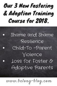 training for foster and adoptive parents