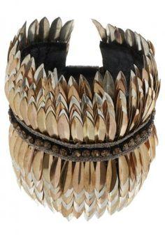 Deepa Gurnani, Armband - gold-/silberfarben, http://www.emeza.de/deepa-gurnani-armband-gold-silberfarben-dg551f004-917, Wer behauptet, dass man Gold und Silber nicht zusammen tragen kann? Deepa Gurnani machen es vor und bestimmen damit maßgeblich, was in dieser Saison angesagt ist. In Schichten legen sich gold- uns silberfarbene Metallelemente übereinander und schaffen so eine raffinierte Optik. Ethno Flair in der Großstadt, mit dem trendy Manschettenarmband von Deepa Gurnani.