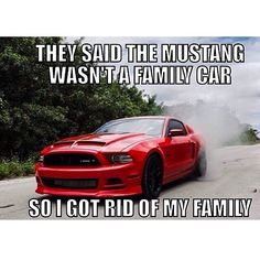 But my Mustang has 2 car seat tethers in the back seats.  No kids or kids, I refuse to give up my Mustang.  One day I will be the coolest mom, pulling up in my Mustang convertible.