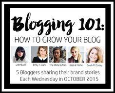 sarah m. dorsey designs: Blogging 101 | How to Grow Your Blog